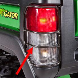 Protección de luces de freno y traseras