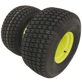 (A) Neumático de césped de caimán