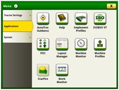 Page d'accès au gestionnaire de configuration