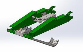 Capteur AHC du contrôle automatique de hauteur de coupe