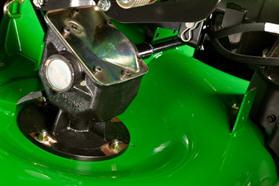 Boîte de vitesse des lames à droite