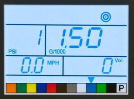 Tableau de bord à affichage digital