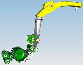 Conception du volant moteur du rotor