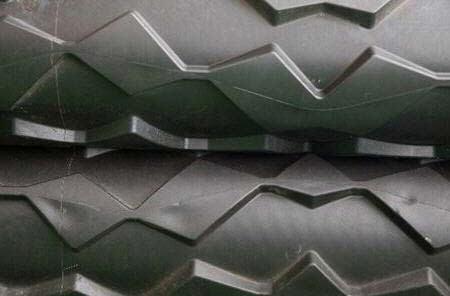Rouleaux conditionneurs flexibles carrés