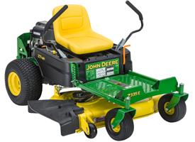 Tracteur Z335E ZTrak™ avec tondeuse Accel Deep42A