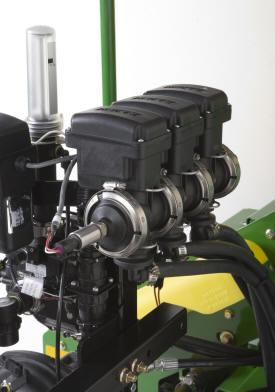 Three-section valves