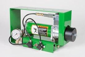 Compresseur de pression verticale pneumatique et jauge