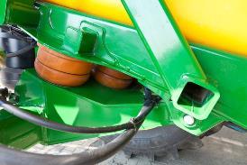 Vue latérale de la suspension d'essieu ProRoad