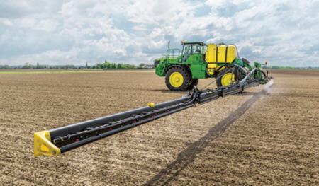 La stabilité de la rampe de pulvérisation améliore la précision de l'opération et réduit le risque de dispersion