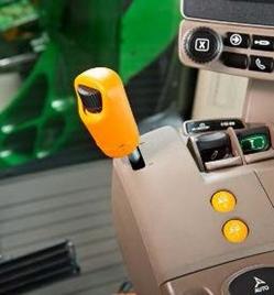 Les boutons de vitesses de pré-réglées et molette de réglage de vitesse