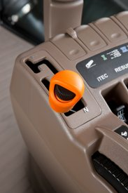 Transmission PowerShift avec levier Efficiency Manager