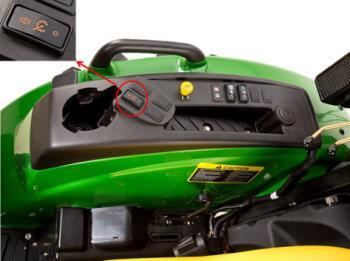 Régulateur de vitesse en option sur les tracteurs 4M