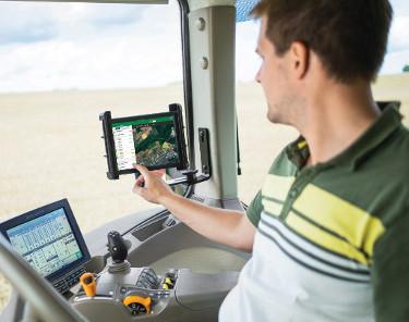 Optimisation de la gestion à distance de vos équipements et de vos travaux aux champs