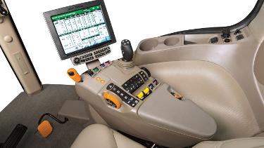 Toutes les fonctions sont à portée de main avec la console d'accoudoir CommandARM