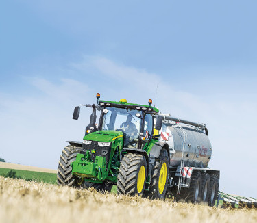L'application John Deere Manure Sensing permet d'analyser en marche les constituants du lisier