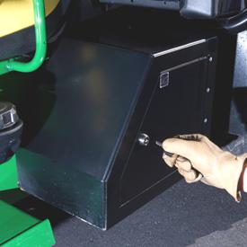 Boîte de rangement latérale