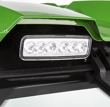 Éclairage LED à faisceau focalisé