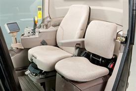 Premium heated seat