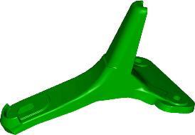 TriStream™ rotor tine