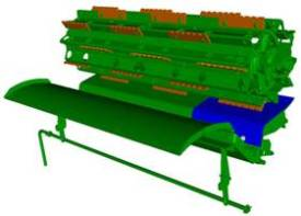 TriStream rotor feed accelerator