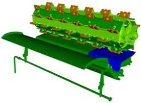 Variable stream standard grain feed accelerator