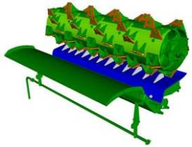 Variable stream standard rice feed accelerator