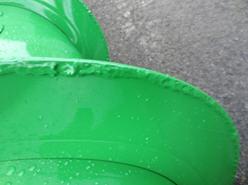 Wear-resistant auger