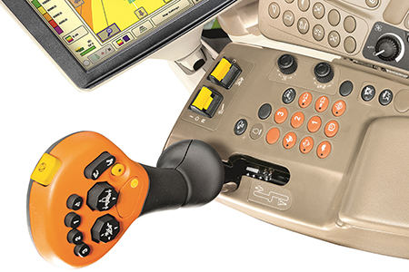 Ergonomic joystick controls