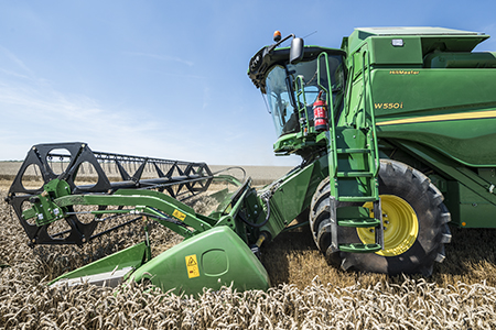 Interactive Combine Adjustment increases combine performance