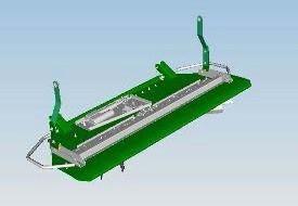 Electric vane tailboard
