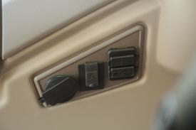 Additional two USB and auxiliary in with 12-v outlet