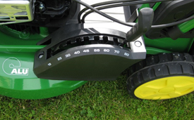 Height cutting adjustment (R47V shown)