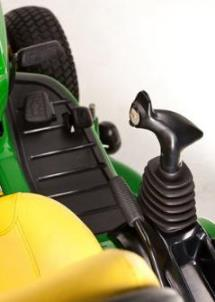 Ergonomic multi-function lever to control all hydraulics