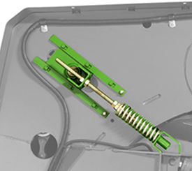 Tensioner optimizes chain lifespan