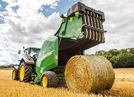 1.65-m (5.5-ft) x 1.21-m (3.11-ft) bales are heavy weight