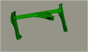 Carrier frame