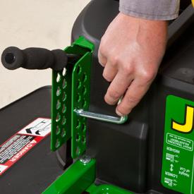 Mower deck lift/cut-height adjustment