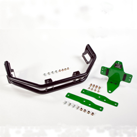 Attachment bar and hitch kit