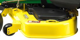 Left side of 122-cm (48-in.) High-Capacity Mower Deck