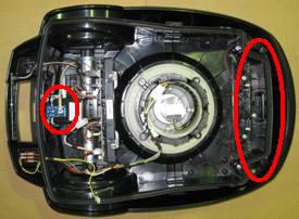 Four boundary sensors