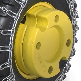 Two 22.7-kg (50-lb) weights (order tire chains separately)