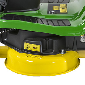 92-cm (36-in.) mower, left side