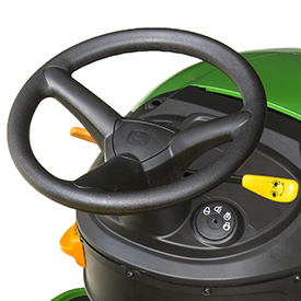 Steering wheel and controls