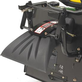 Rear deflector