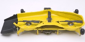 Underside of  137-cm (54-in.) Edge Xtra Deck
