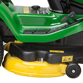 107-cm (42-in.) Mower Deck shown on X155R