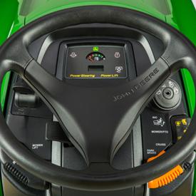 X590 Tractor dash, no choke required