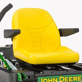 Comfortable seat (Z345R shown)