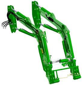 H360 HSL Front Loader with transparent boom