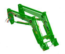 H360 MSL Front Loader with transparent frame